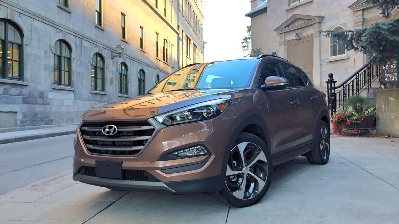 Морда Hyundai Tucson TL дорестайлинг