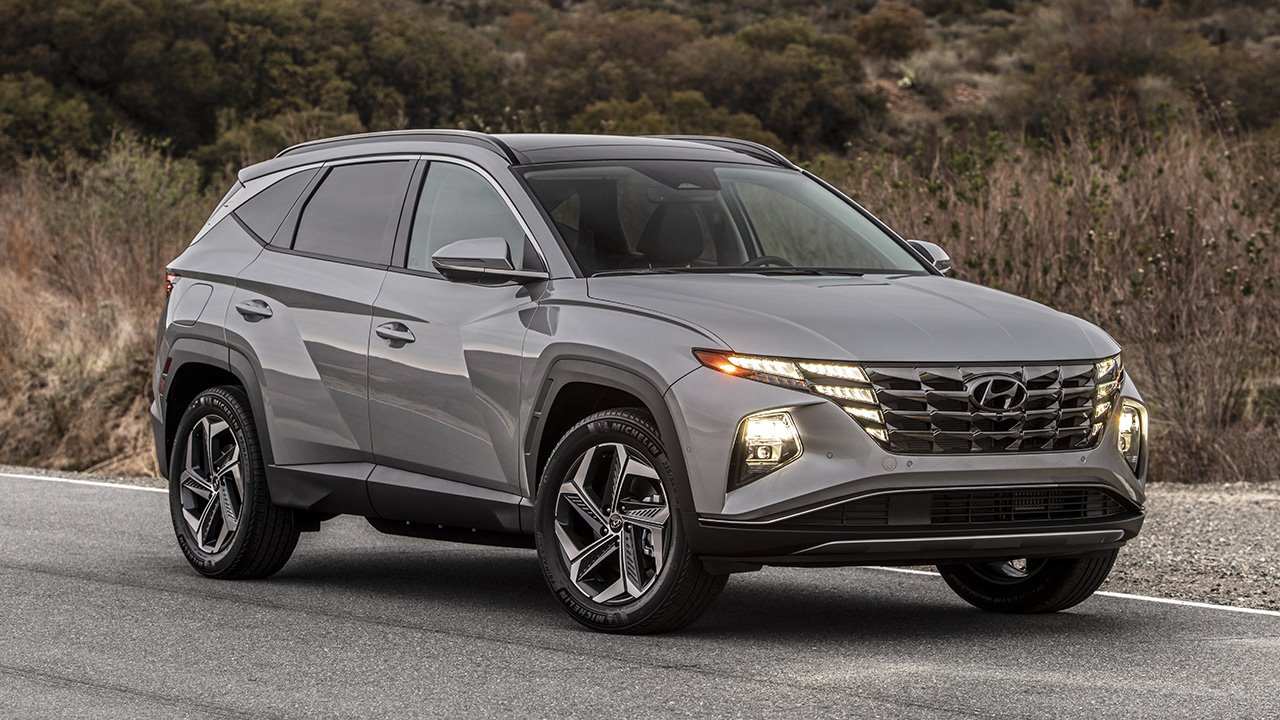 Hyundai Tucson 2019-2020 фото спереди
