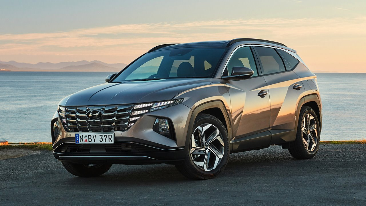 Передняя часть Hyundai Tucson 2019-2020