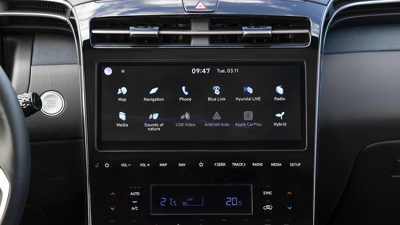 Задние сиденья рестайлингово Hyundai Tucson