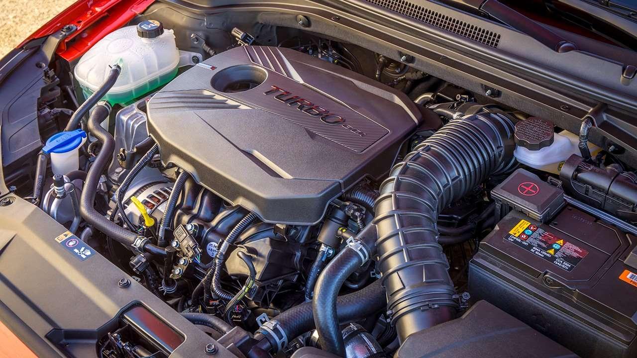 1,6-литровый двигатель нового Veloster