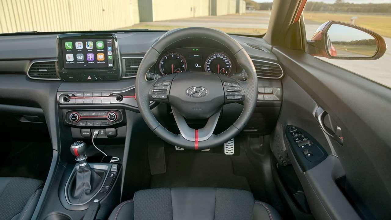 Салон Hyundai Veloster 2