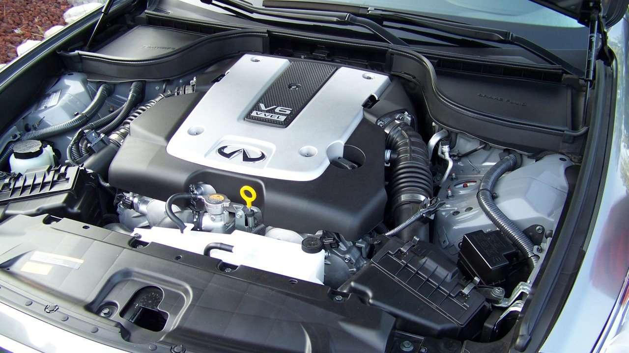 Двигатель седана