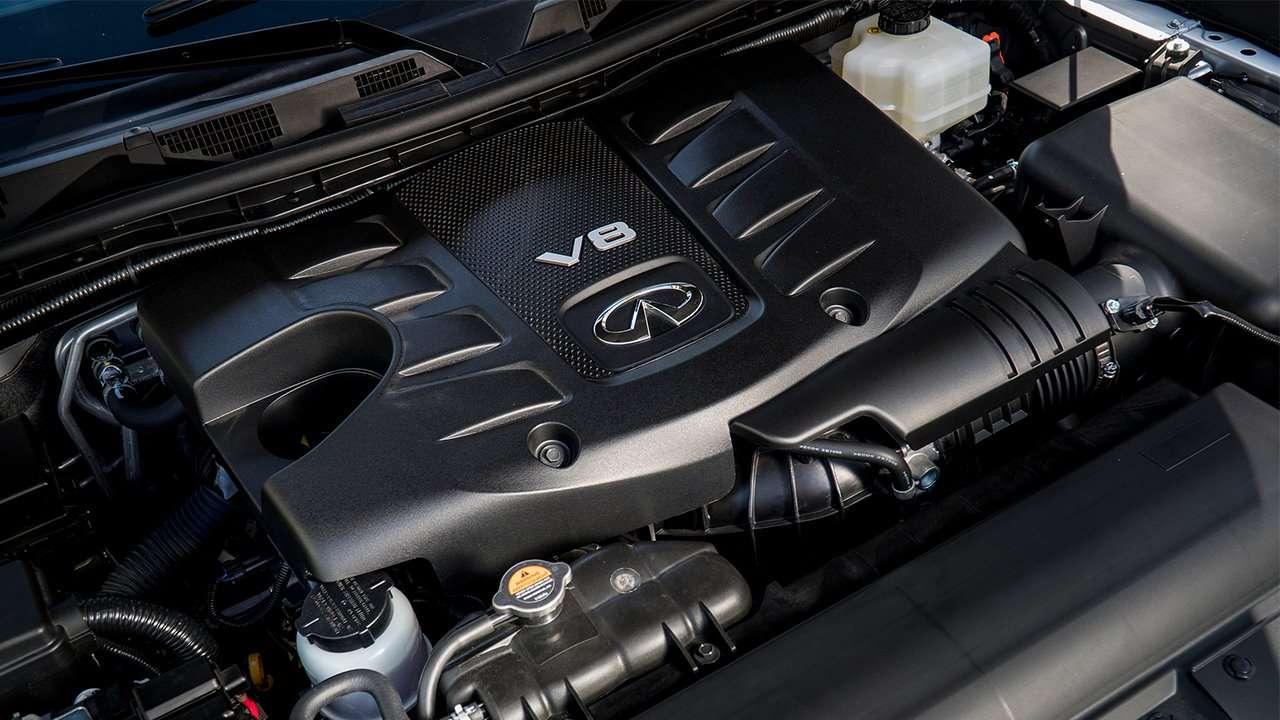 Двигатель нового Инфинити Ку Икс 80