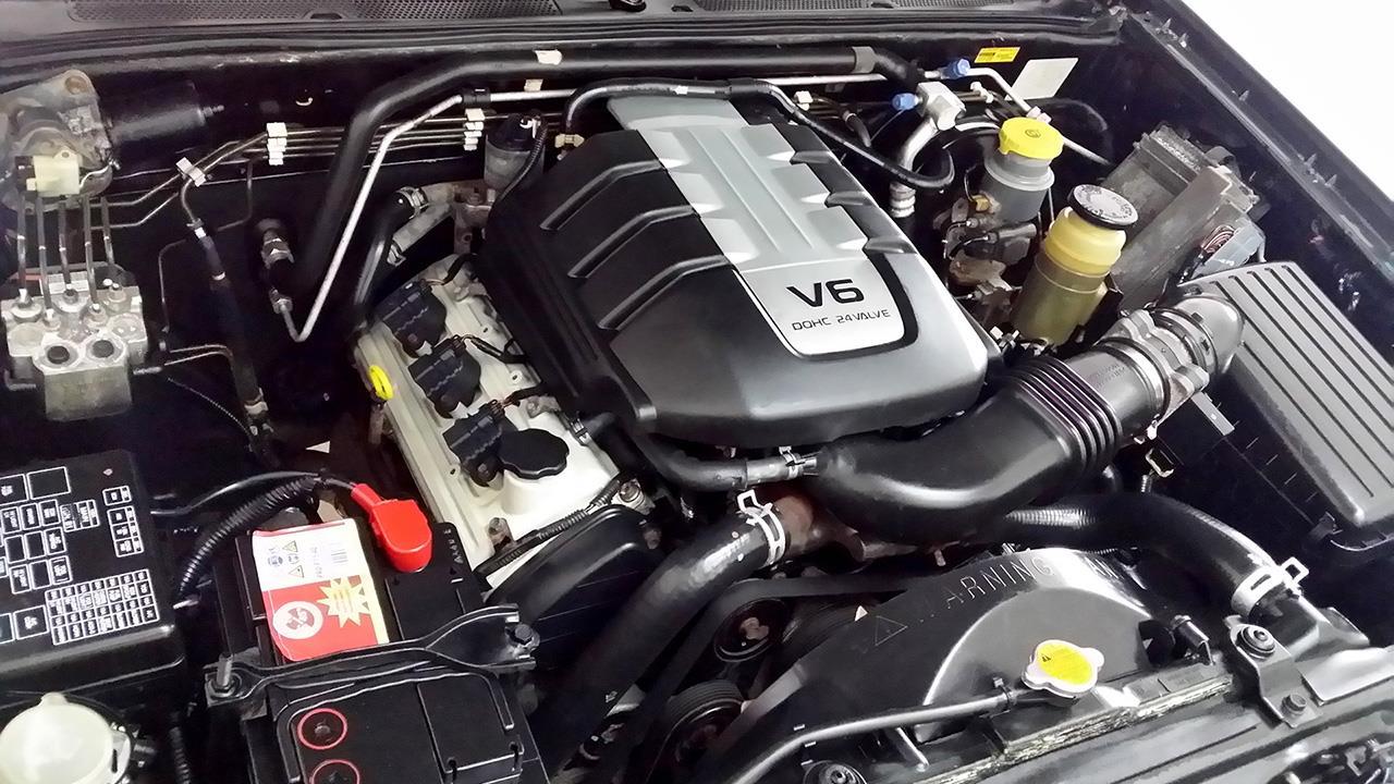 Фото двигателя Isuzu Axiom