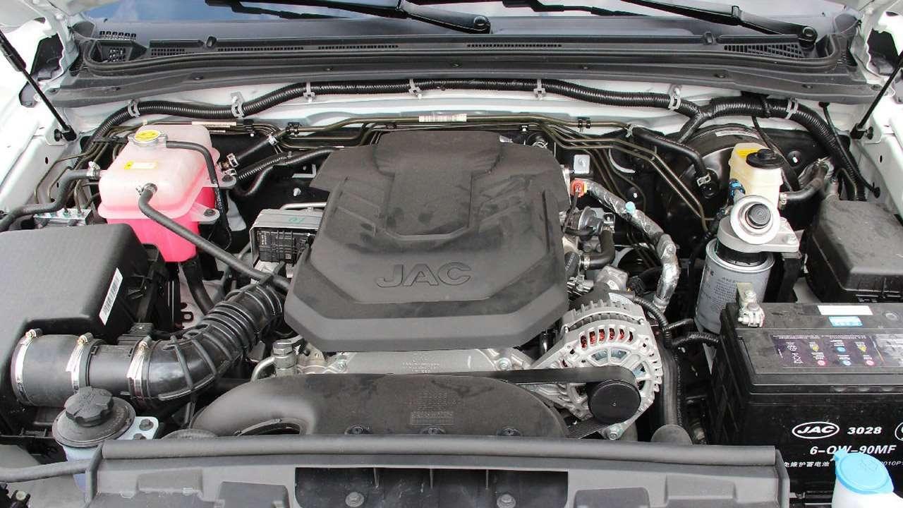 Фото двигателя JAC T6