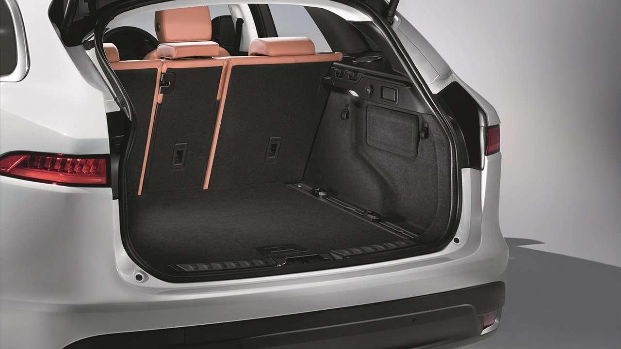 Jaguar F-Pace 2020-2021 багажник