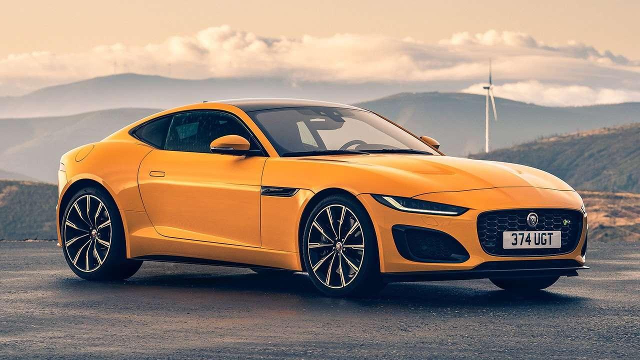 Jaguar F-Type 2020-2021 фото спереди