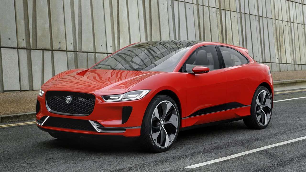 Морда Jaguar I-Pace 2018-2019