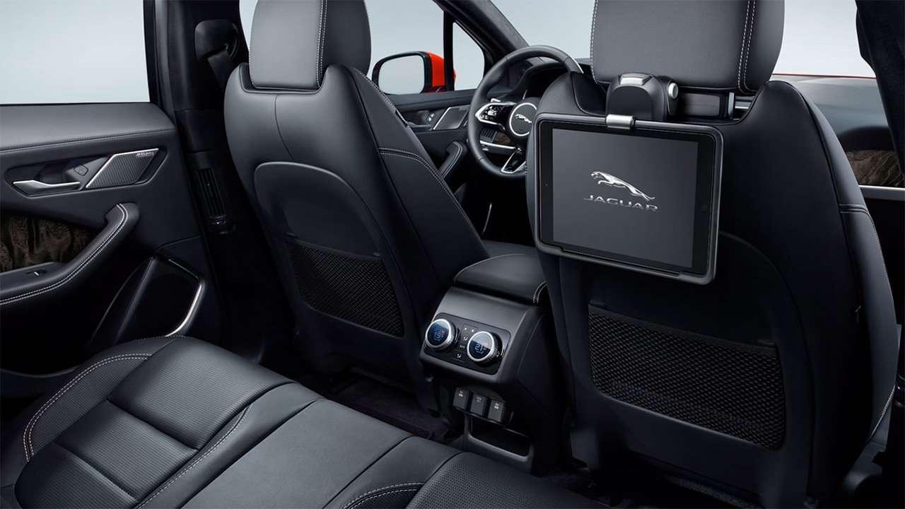 Задние сиденья Jaguar I-Pace 2018-2019