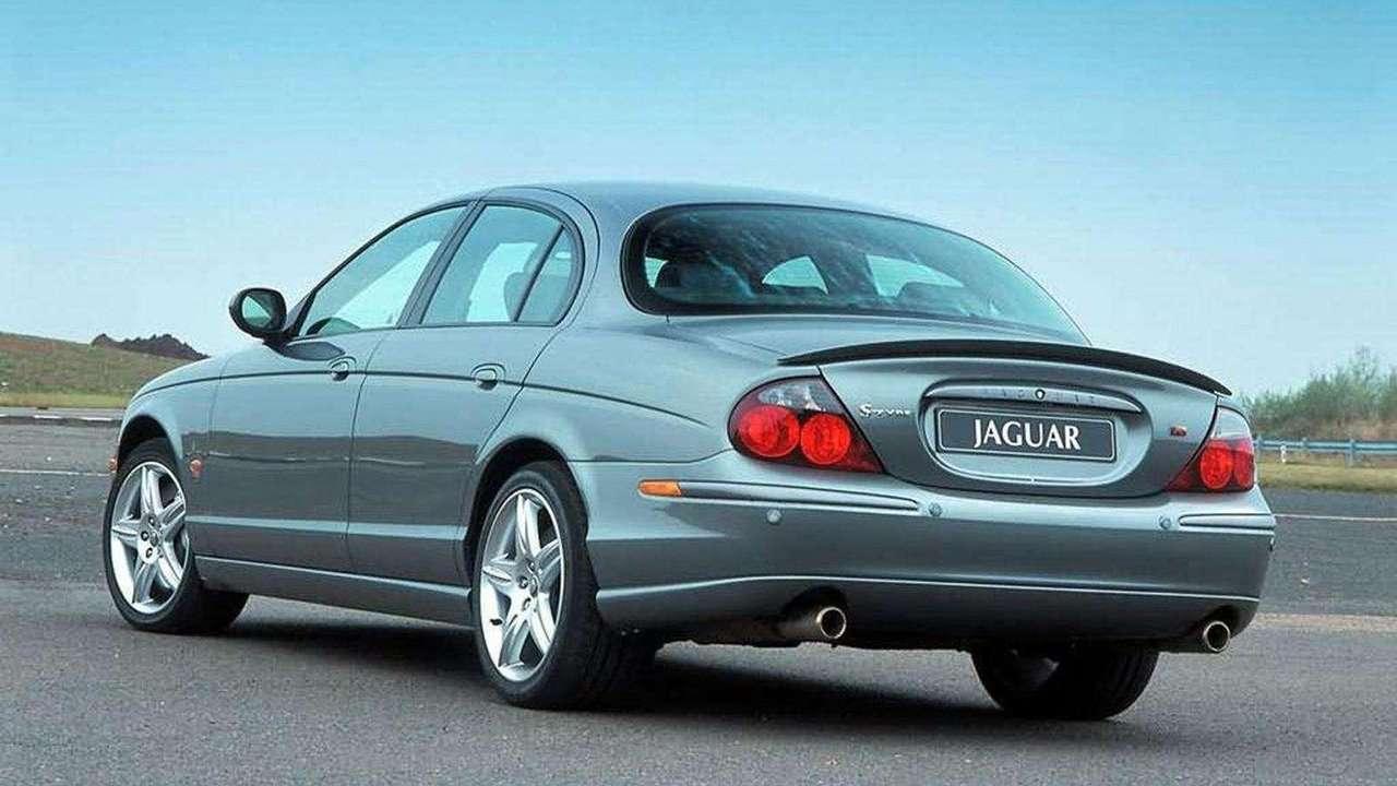 Jaguar S-Type 1999 фото сзади