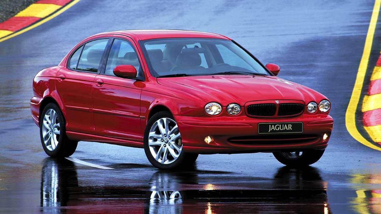 Jaguar X-Type фото спереди