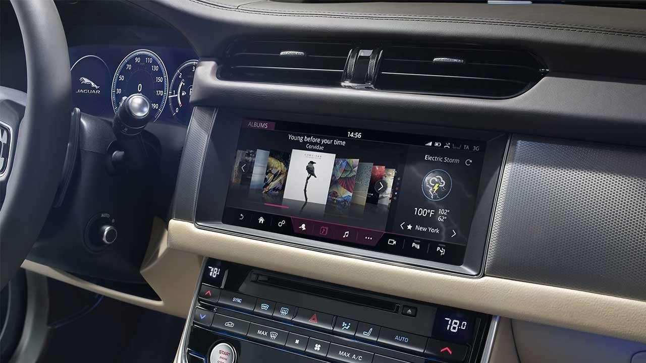 Мультимедиа Jaguar XF 2020-2021