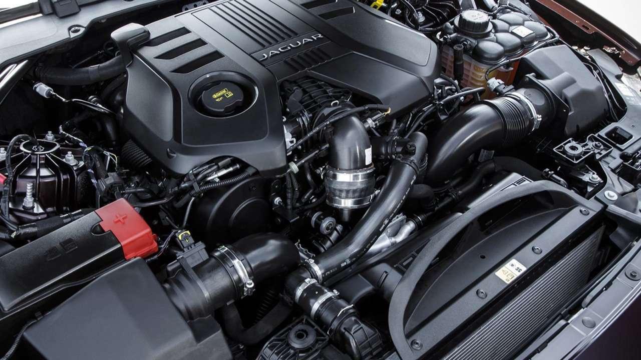 двигатель Ягуар ХФ 2020-2021