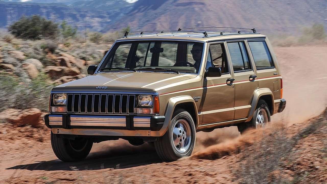 Передняя часть Jeep Cherokee XJ