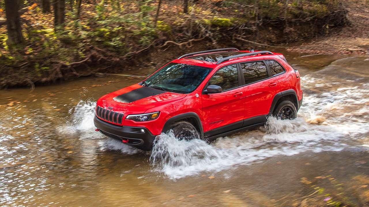 Jeep Cherokee 2020-2021 на бездорожье