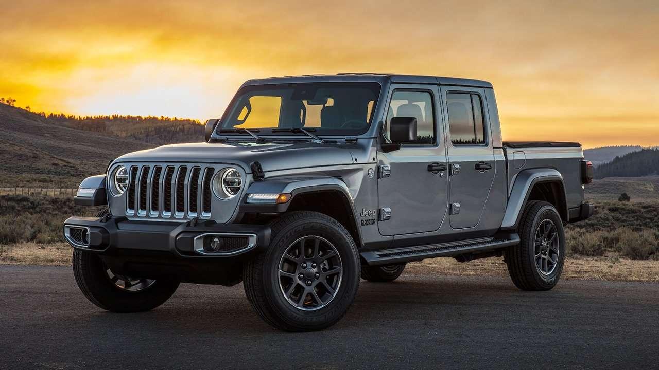 Jeep Gladiator 2020-2021 спереди