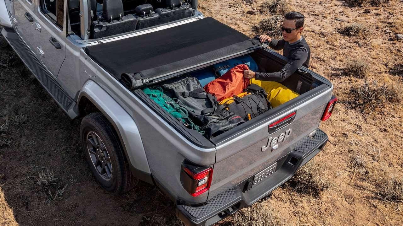 Багажный отсек Jeep Gladiator
