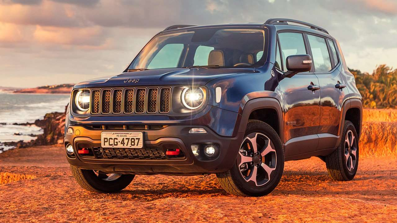 Jeep Renegade 2020-2021 фото спереди