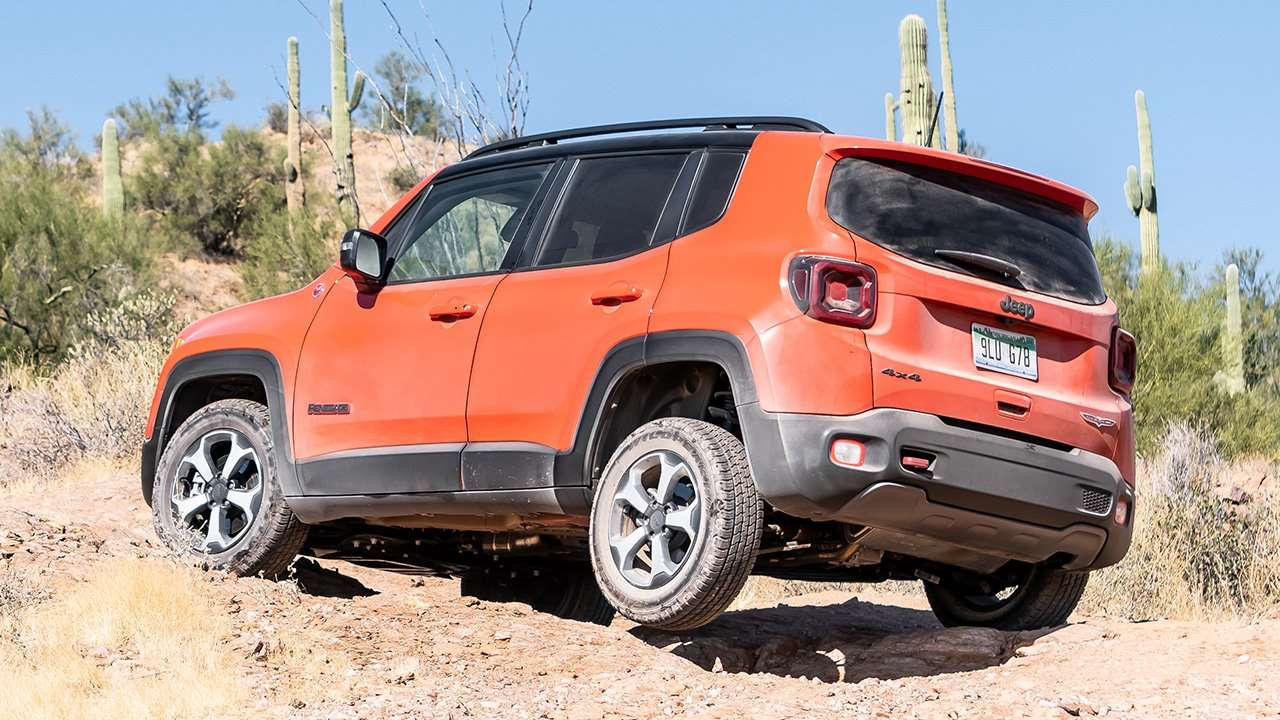 Новый Jeep на бездорожье