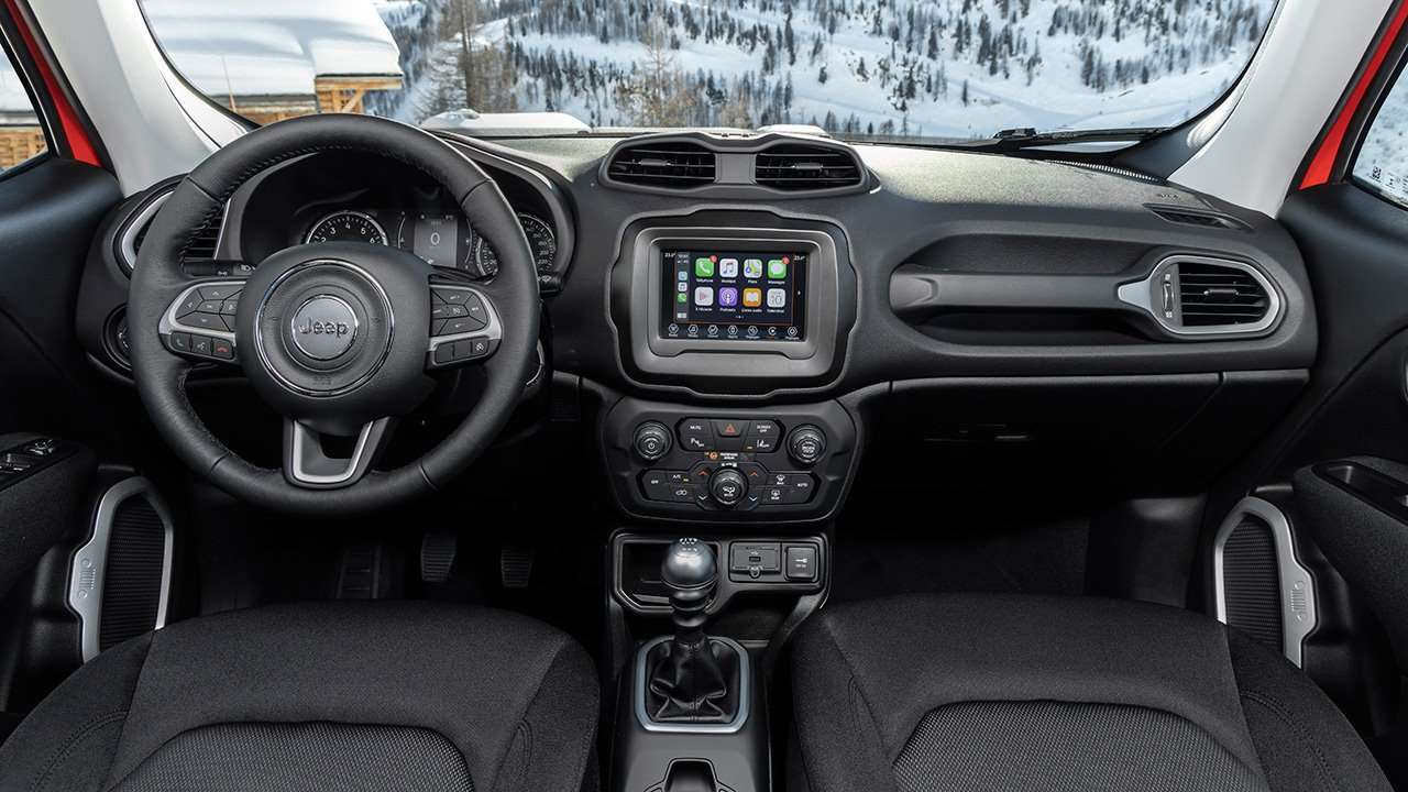 Салон Jeep Renegade