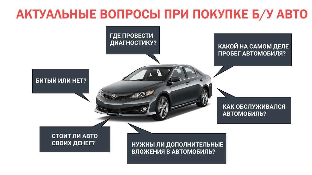 Что проверять при покупке б/у авто