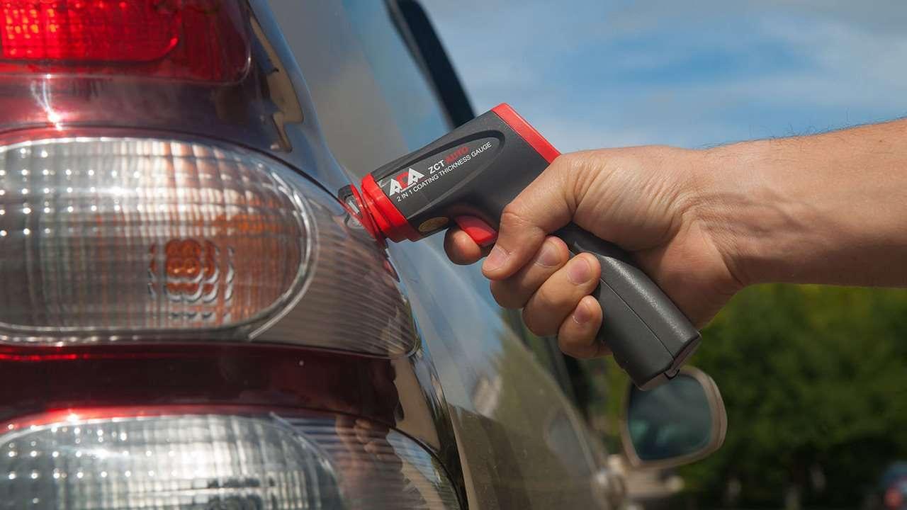 Проверка автомобиля толщиномером