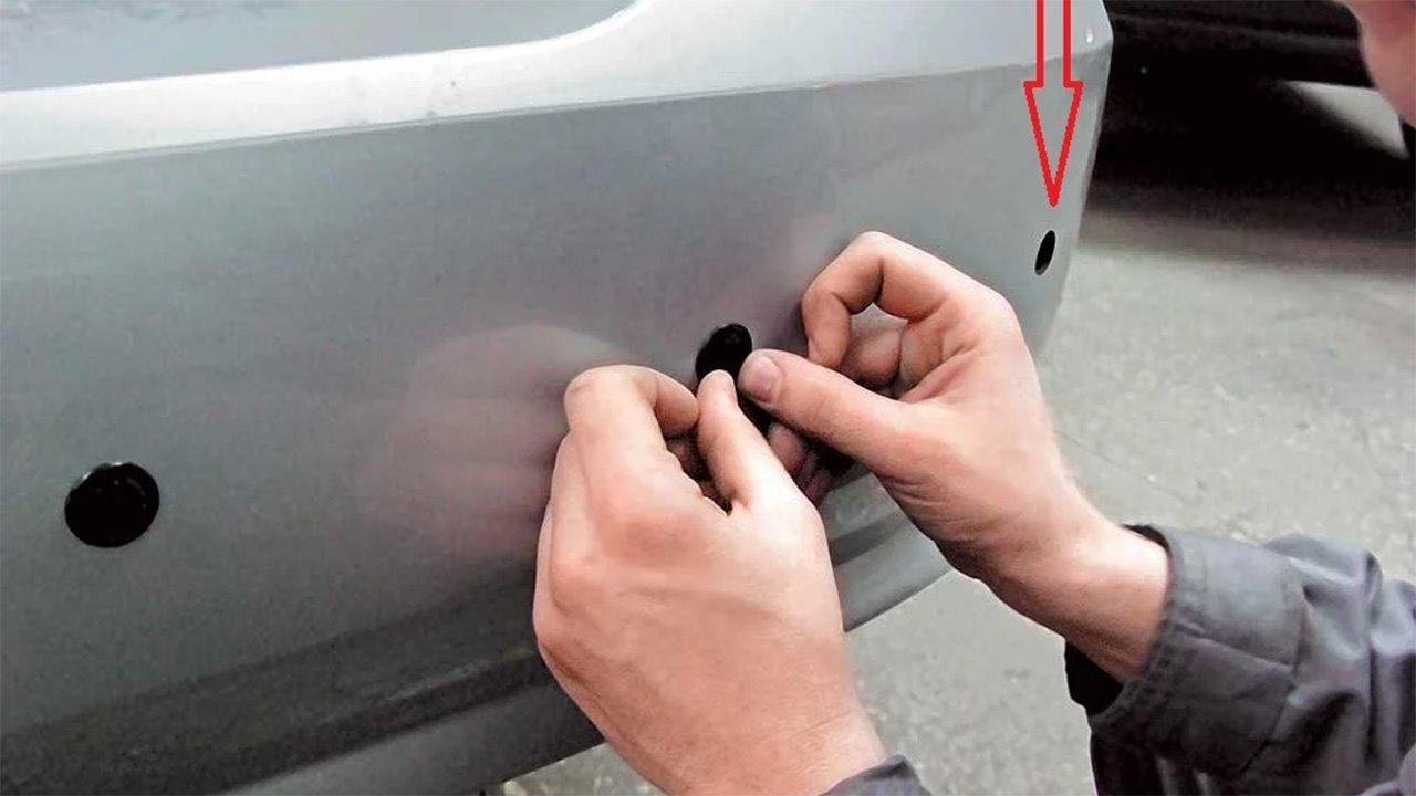 Тактильная проверка парктроника