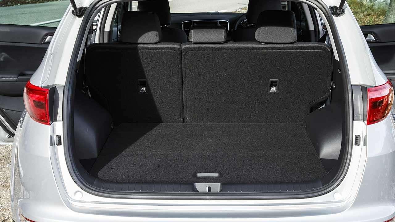 Фото багажника КИА Sportage 3