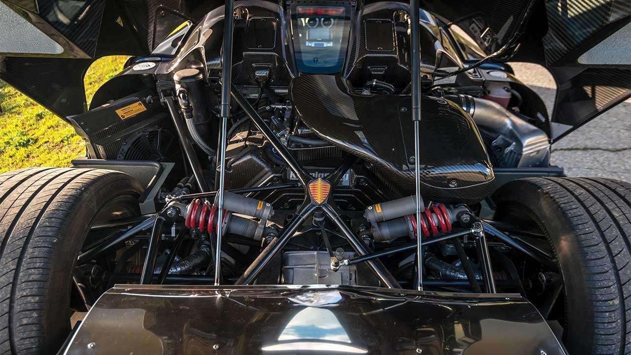 Фото двигателя Koenigsegg ССХ