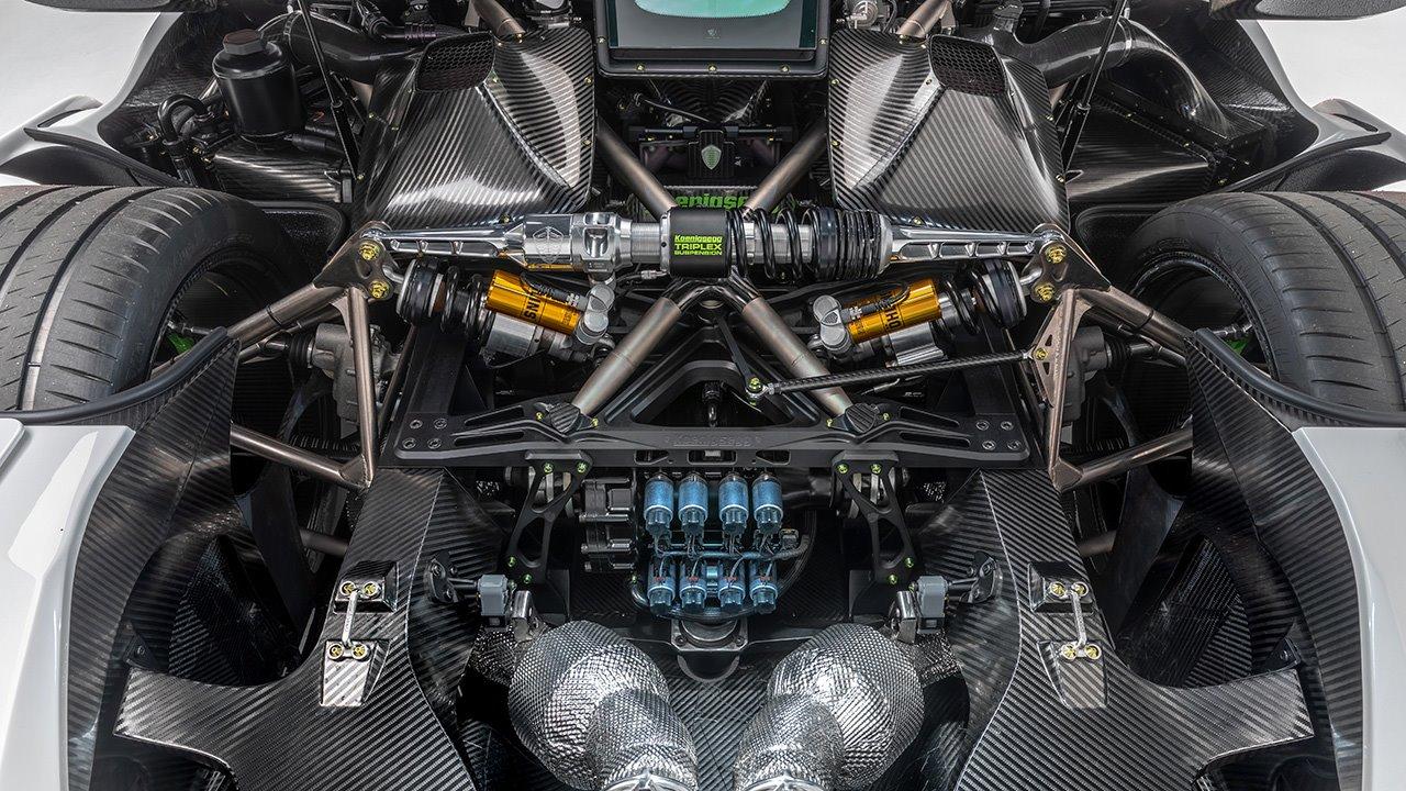 Фото двигателя Koenigsegg Jesko