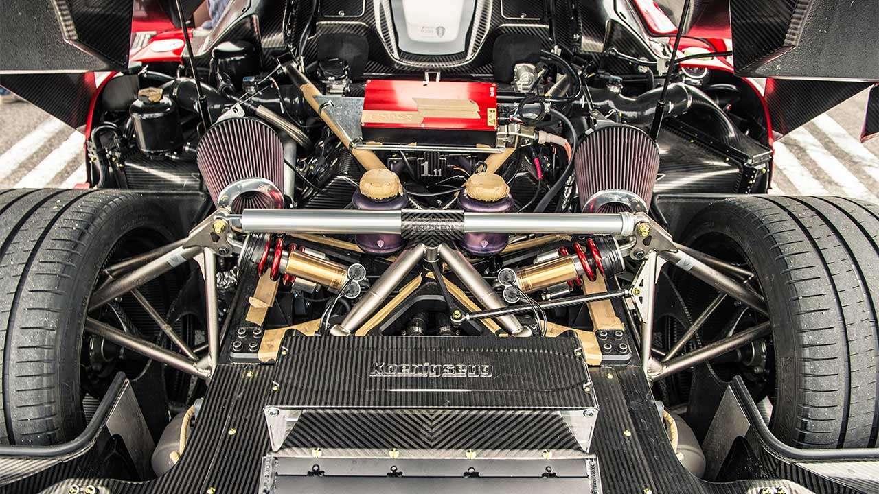 Фото двигателя Koenigsegg Регера