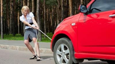 Правильная буксировка автомобиля