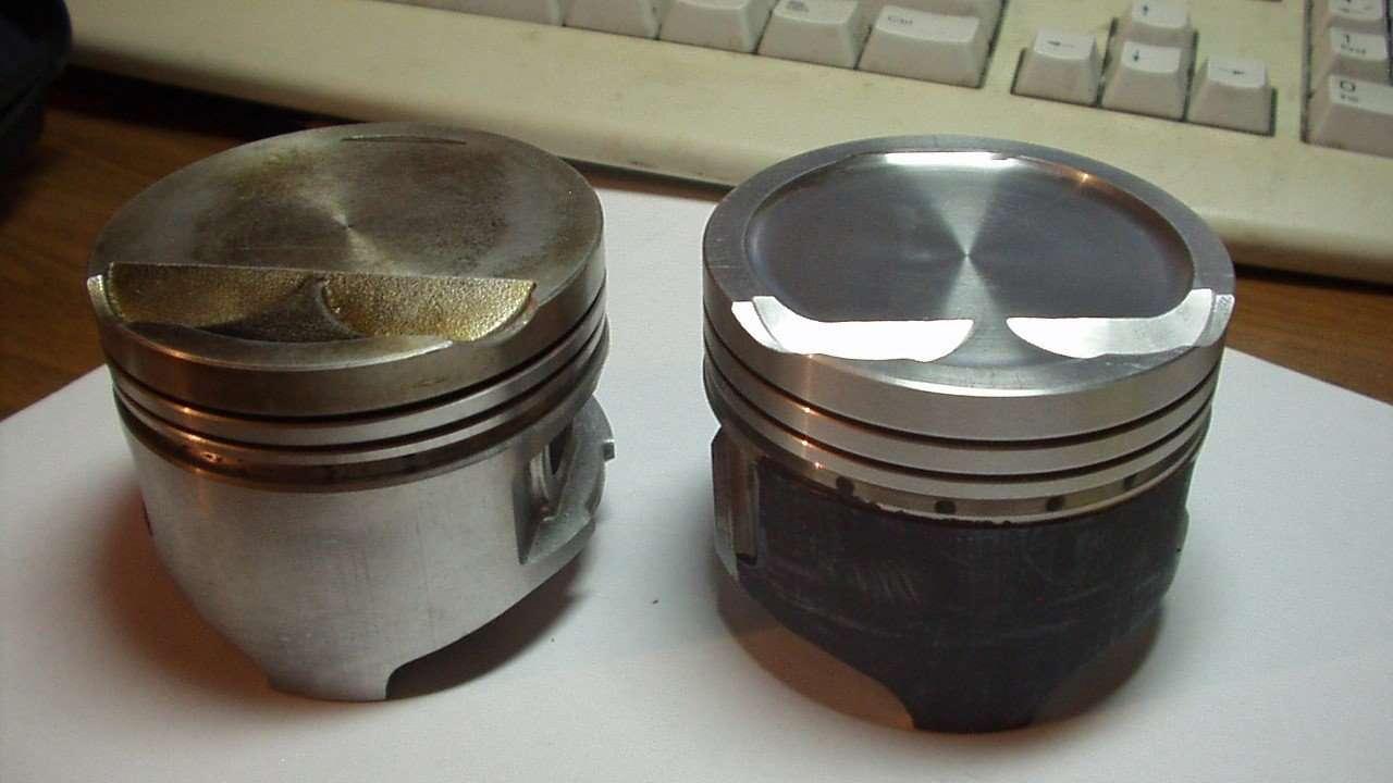 Кованый и литой поршень