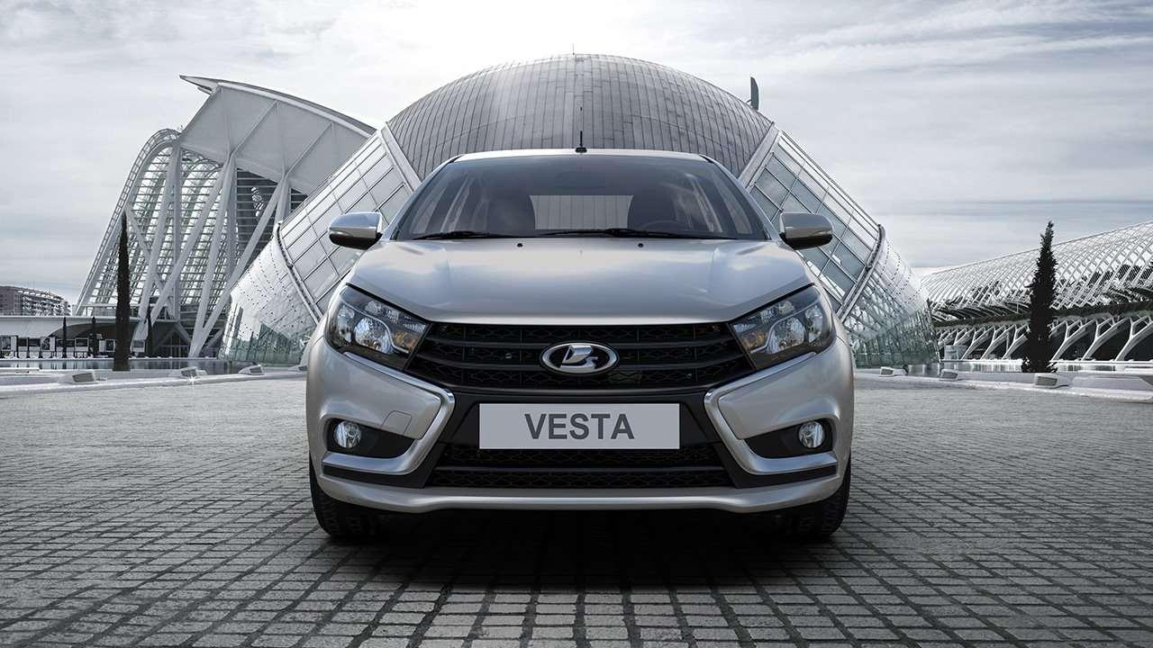 Передок Lada Vesta