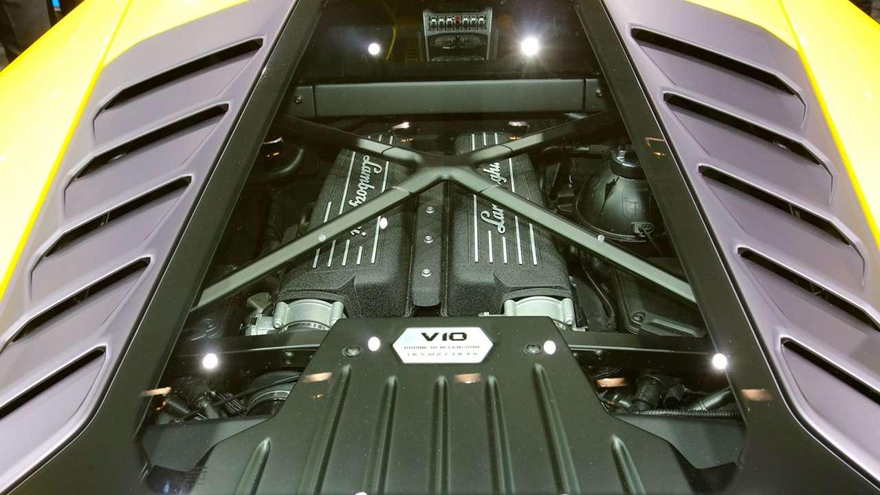 двигатель Ламборгини Хуракан ЛП 610-4 2016