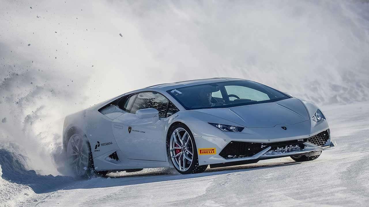 Дрифт на Lamborghini Huracan