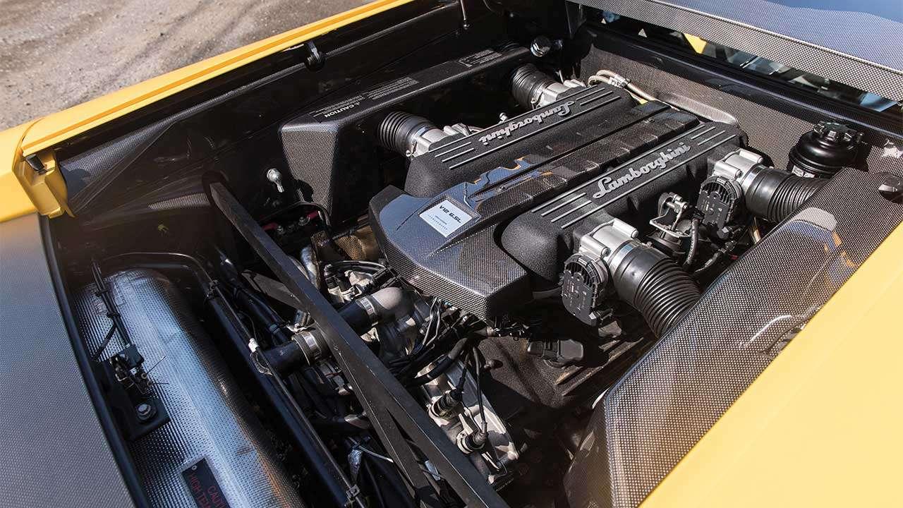 Мотор Ламборгини Мурселаго LP640