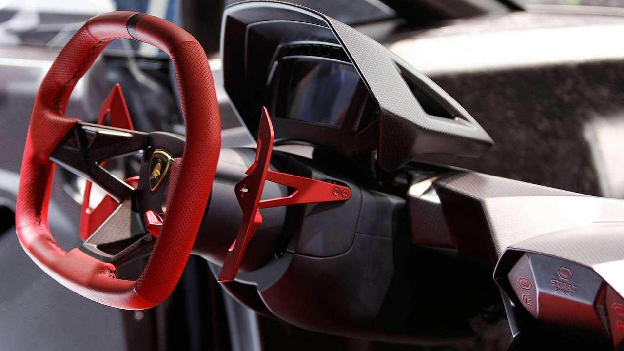 Lamborghini Sesto Elemento Concept фото салона