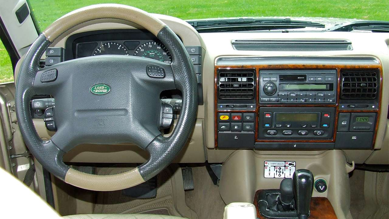 Салон Land Rover Discovery 2