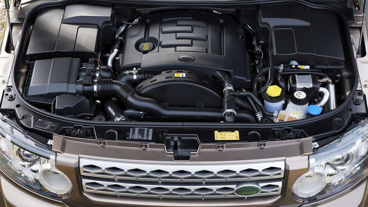 Дизельный мотор Land Rover Discovery 4