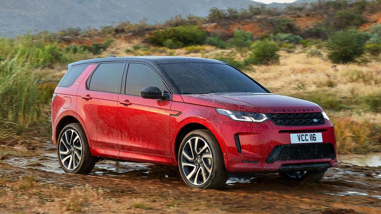 Фото Land Rover Discovery Sport спереди