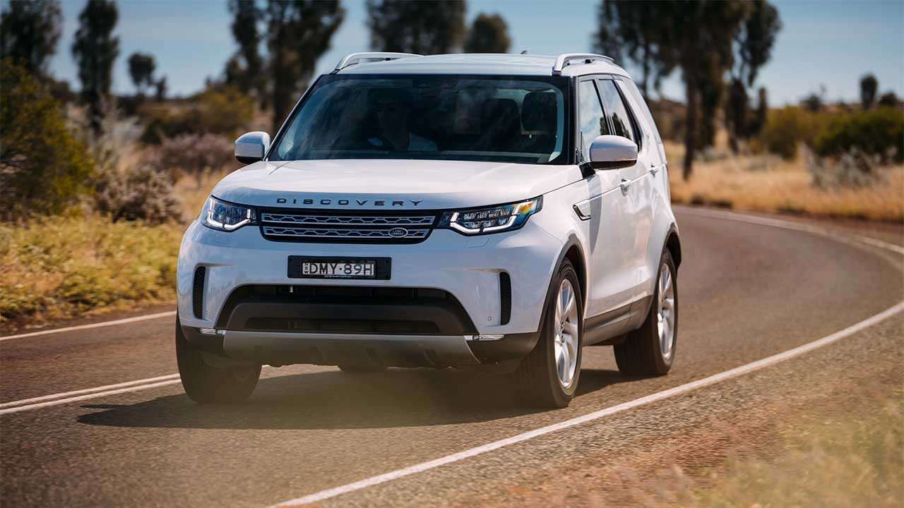 Land Rover Discovery 5 2020-2021 фото спереди