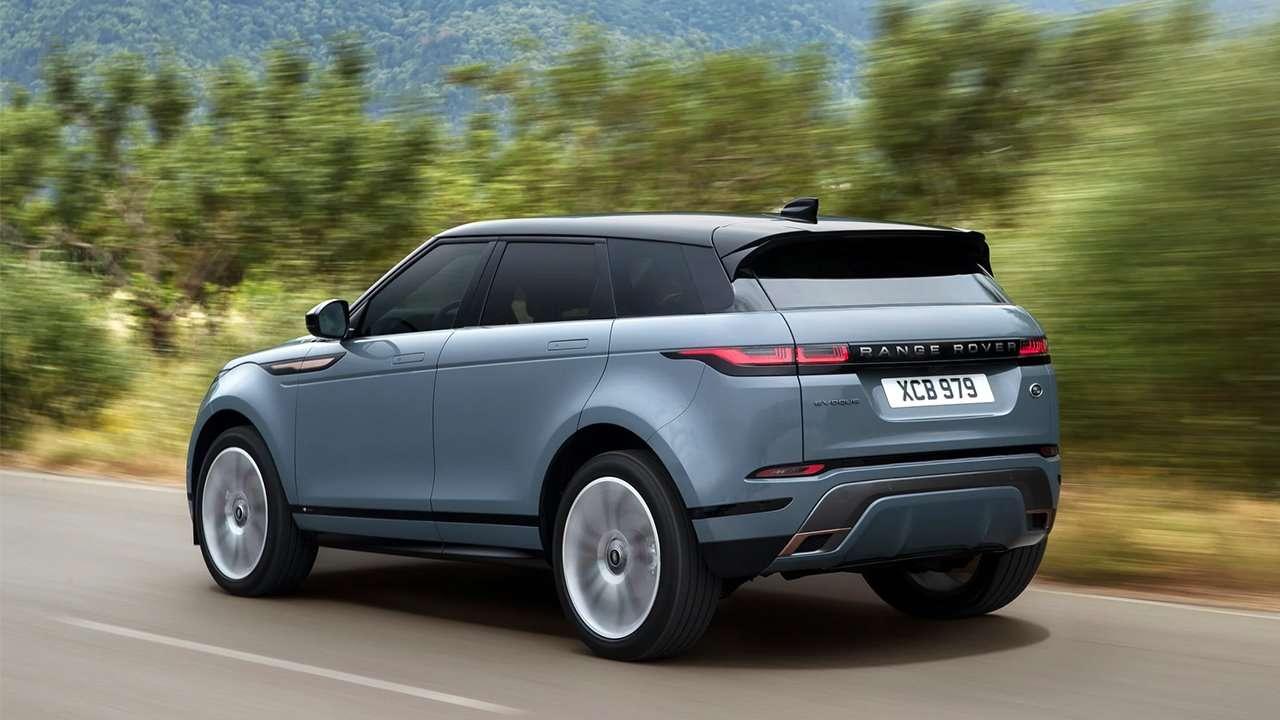 Корма нового Range Rover Evoque 2019-2020