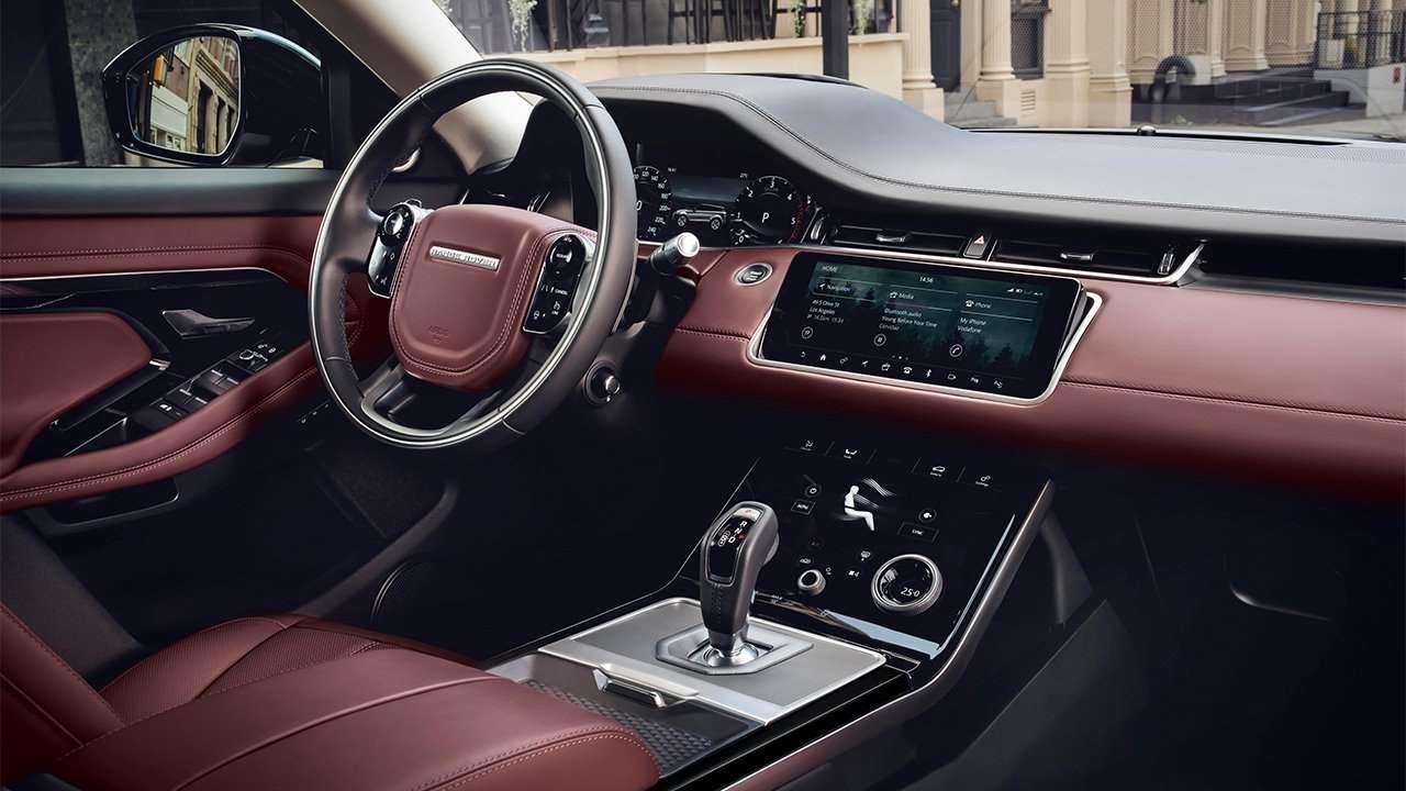 Фото салона Range Rover Evoque 2019-2020