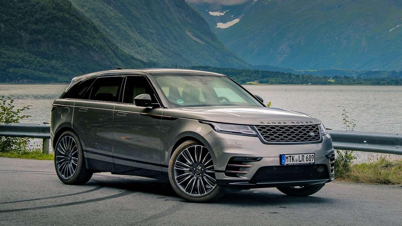Range Rover Velar 2020-2021 фото спереди
