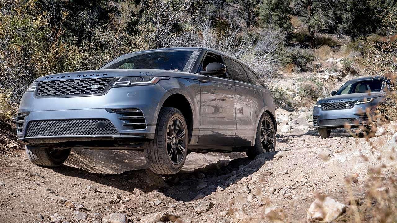 Range Rover Velar на бездорожье