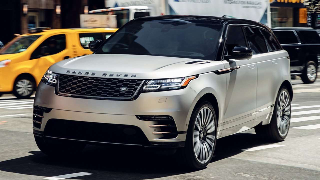 Range Rover Velar 2020-2021 фото передней части