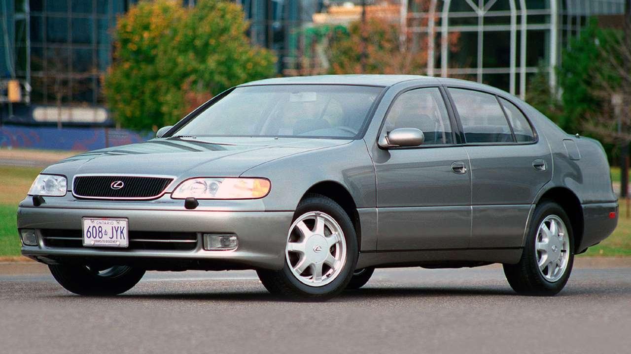 Lexus GS 1993-1997 фото спереди