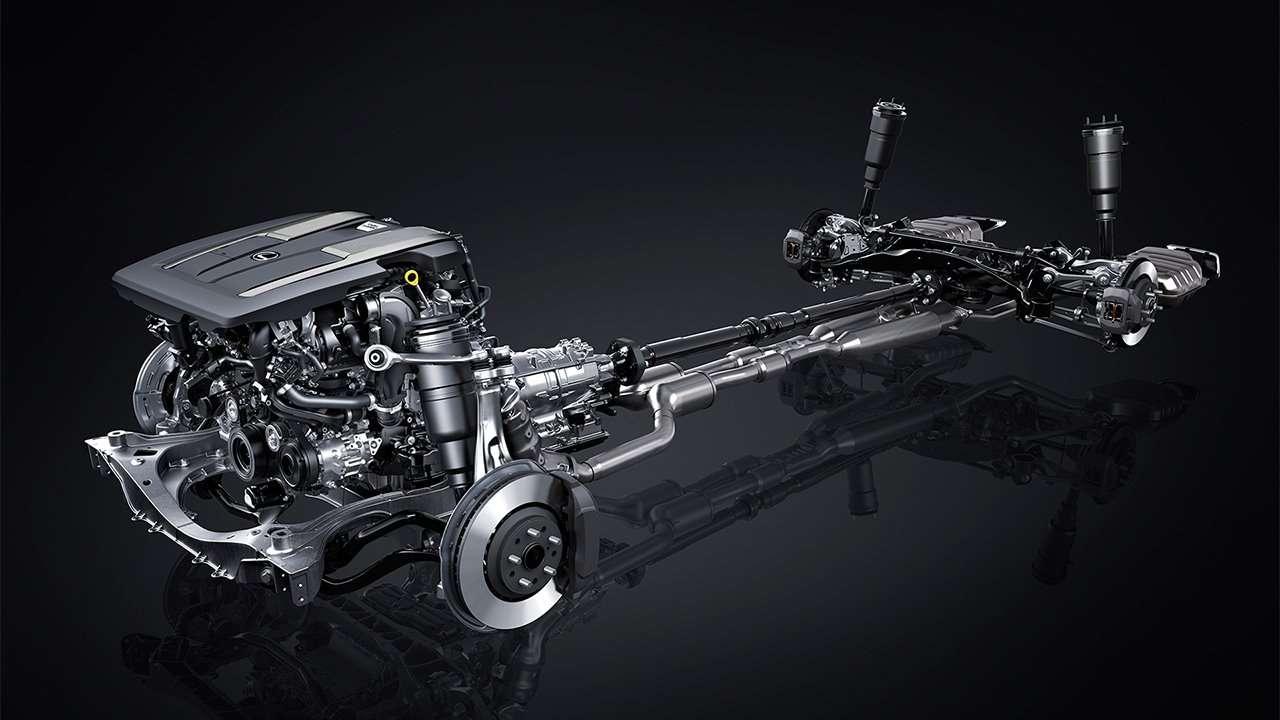 Подвеска, мотор и коробка LS 2020-2021